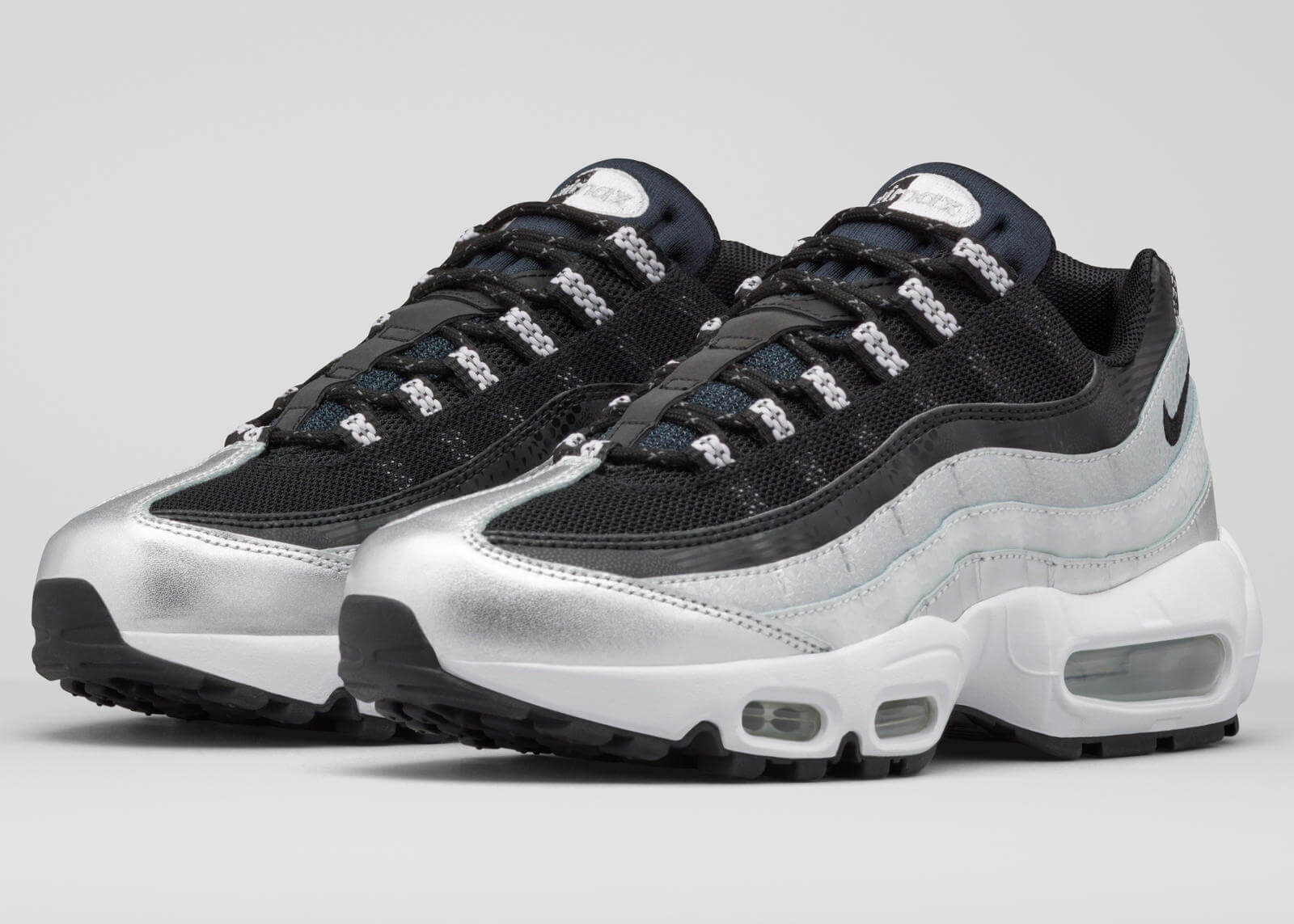 purchase cheap c960c ec309 ... reduced hvid sort nike air max 95 . c60de 27258