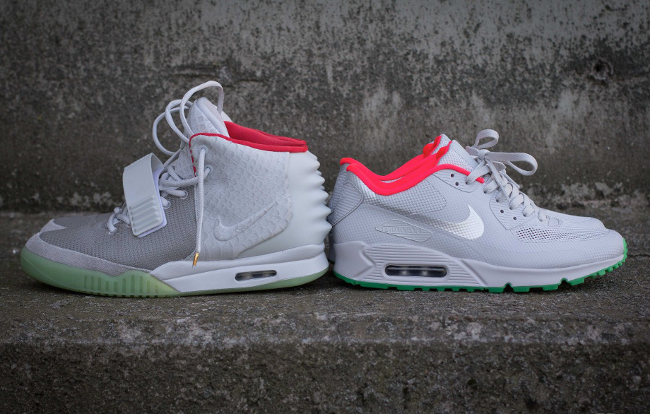 new product 69366 e8dee nike air max 90 yeezy white