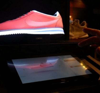 Design Nike sneakers i Augmented Reality
