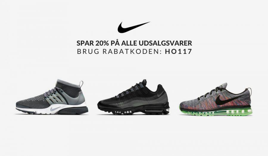 Nike Rabatkode 2017