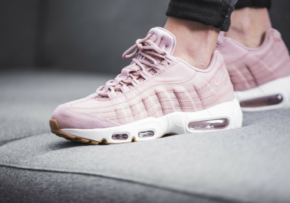Nike WMNS Air Max 95 Premium Pink Oxford