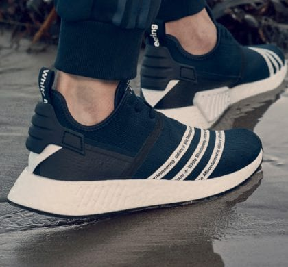 White Mountaineering x adidas NMD R2