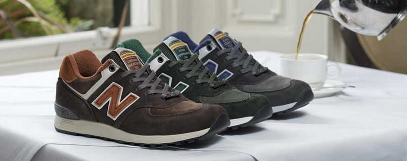 "New Balance Made in the UK 576 ""Tea"" Pack"
