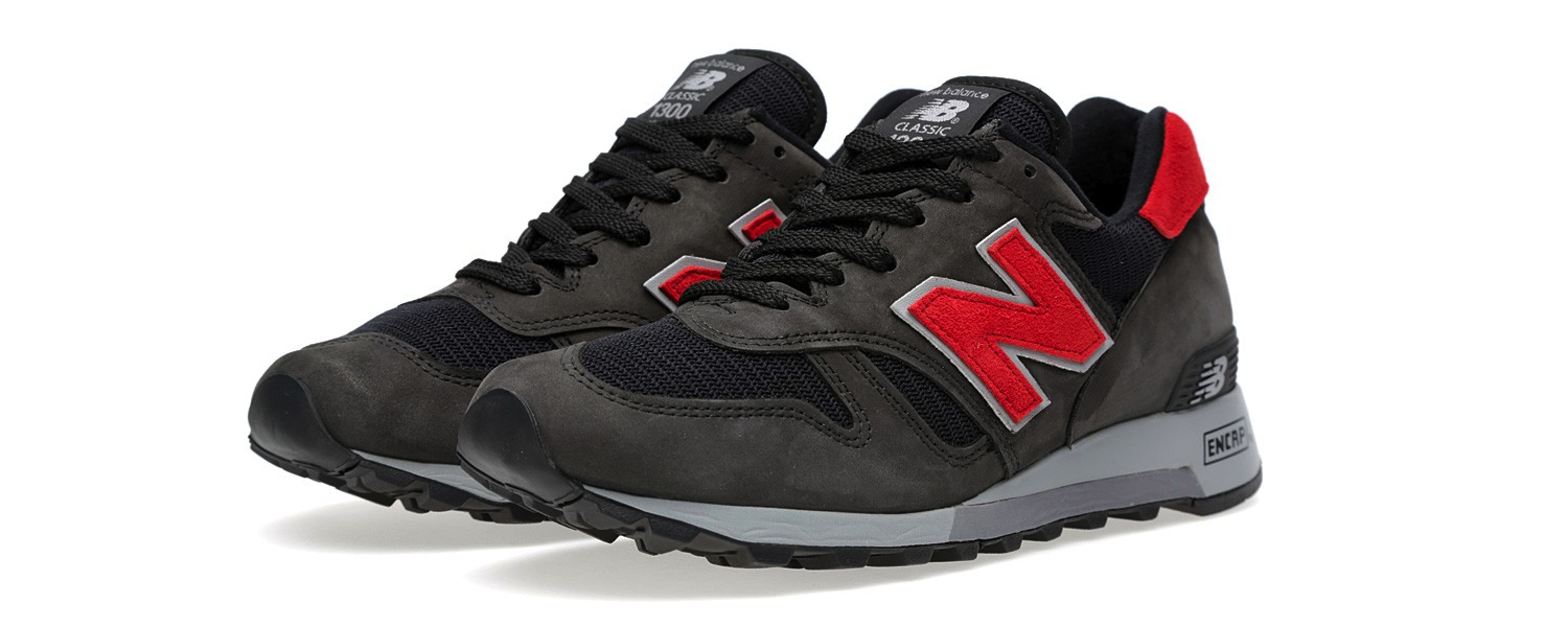 New Balance M1300BB – Made In USA Black & Red