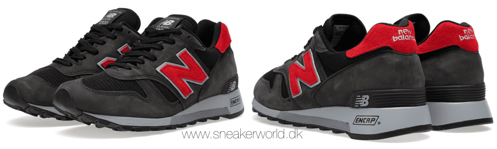 New Balance M1300BB - Made In USA Black & Red