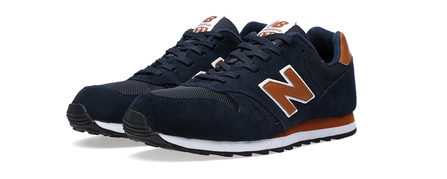 New Balance M373SNM Navy & Tan