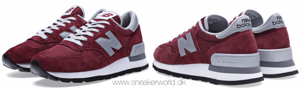 New Balance M990BD - Made in the USA Burgundy