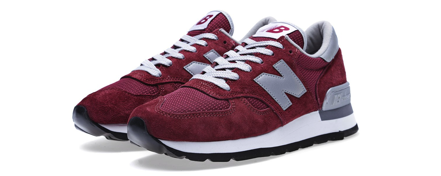 New Balance M990BD – Made in the USA Burgundy