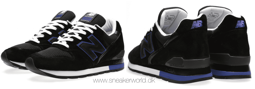 New Balance M996BA - Made In The USA Black & Blue