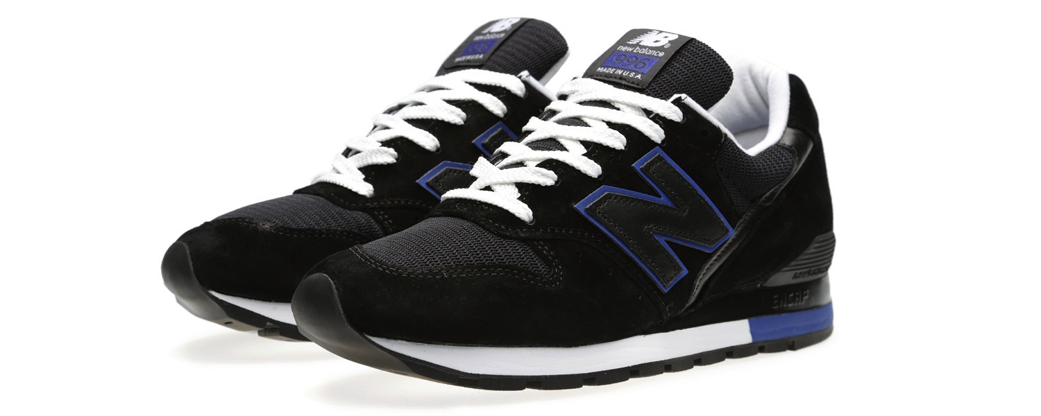 New Balance M996BA – Made In The USA Black And Blue