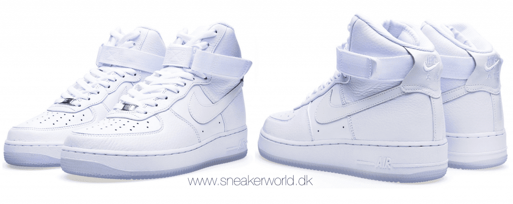 Nike Air Force 1 Hi Comfort PRM QS Triple White