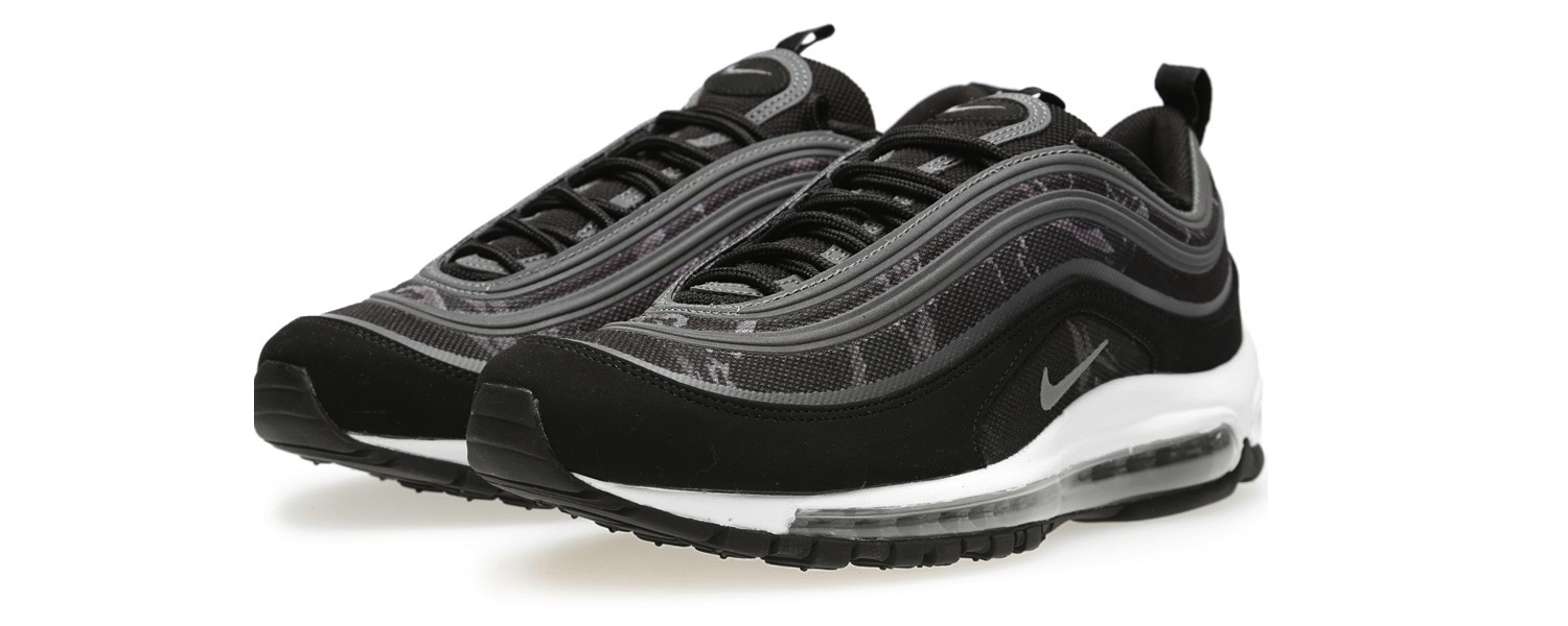 Nike Air Max 97 Premium Tape Black & Cool Grey