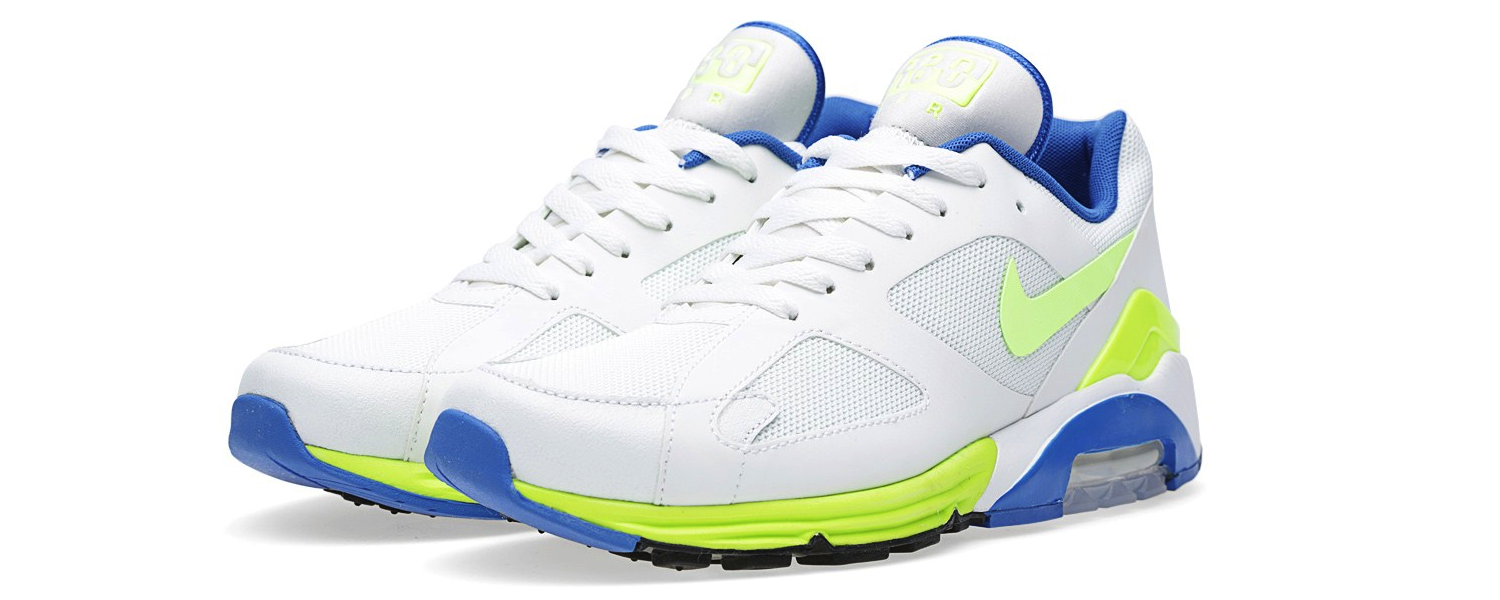 Nike Air Max Terra 180 QS White and Hot Lime