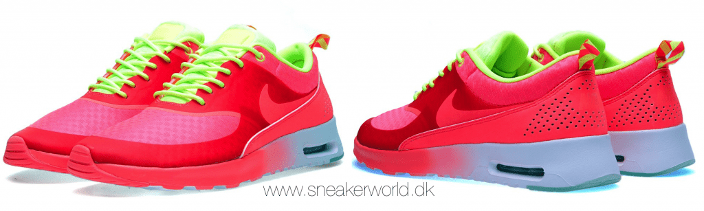 Nike Air Max Thea Woven Atomic Red & Volt