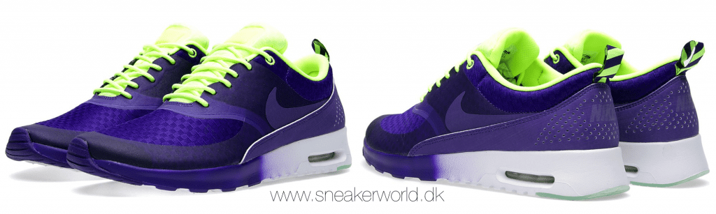 Nike Air Max Thea Woven Electric Purple & Volt