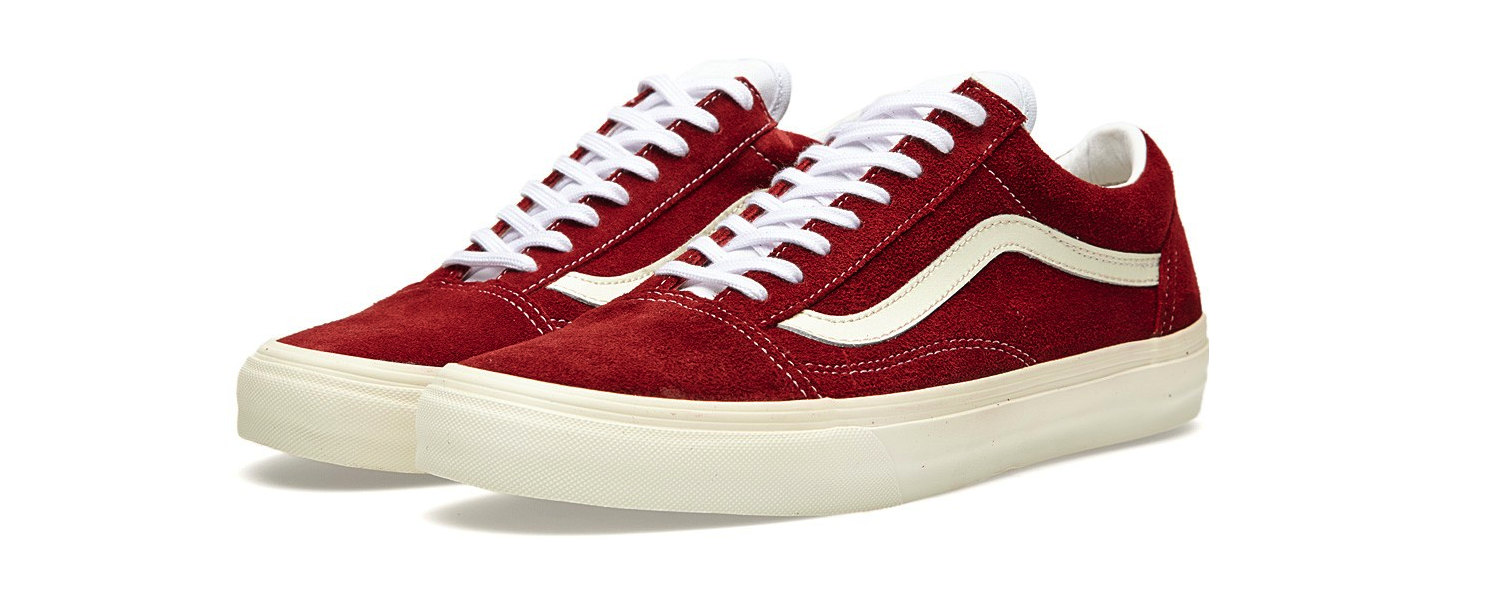 Vans Old Skool Vintage Rio Red