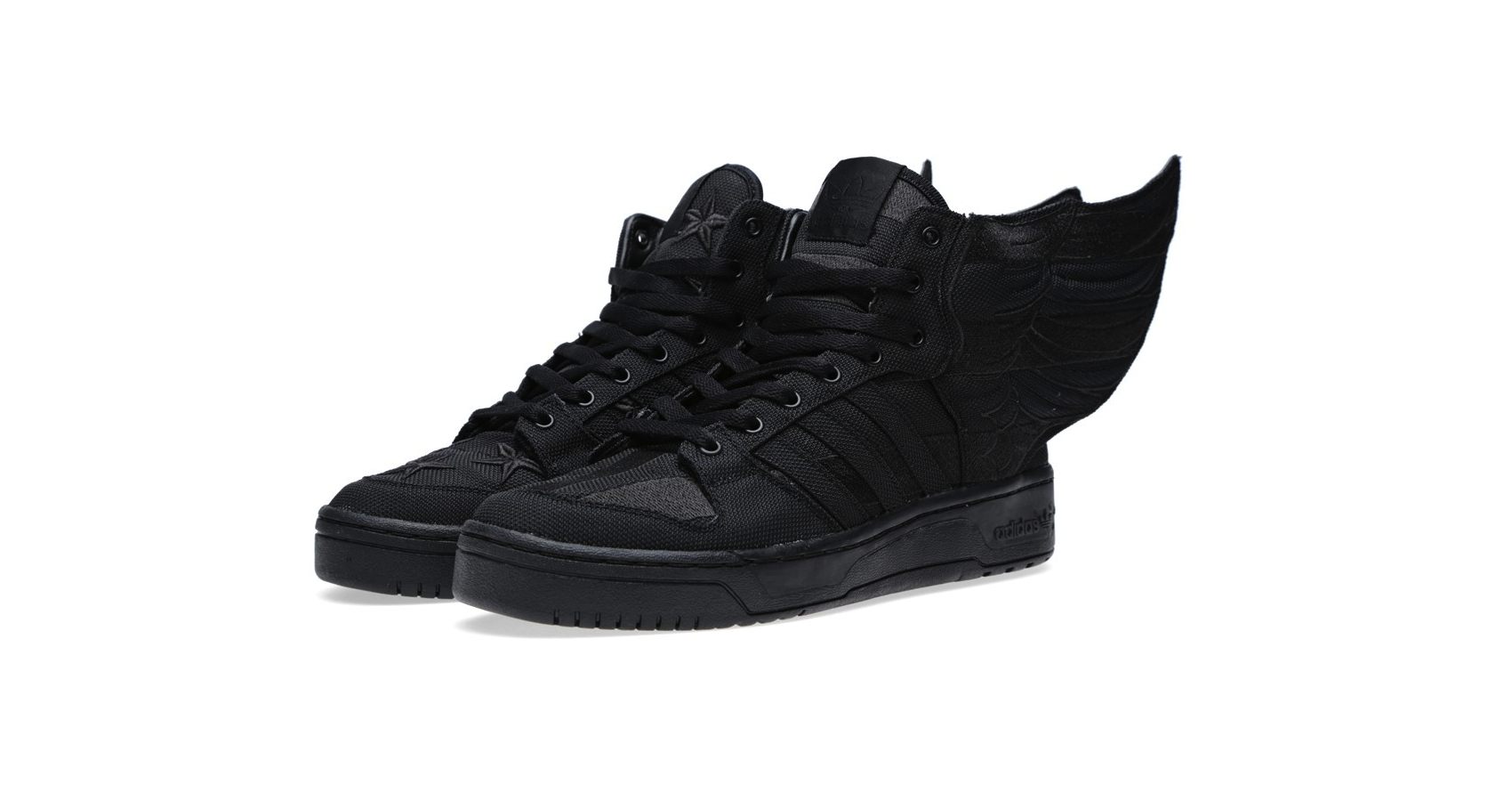 Adidas ObyO x Jeremy Scott x A$AP Rocky Wings 2.0 Black Flag