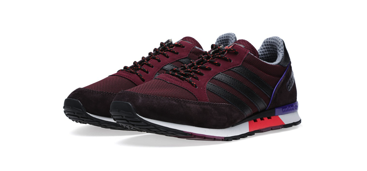 Adidas Phantom Light Maroon and Black