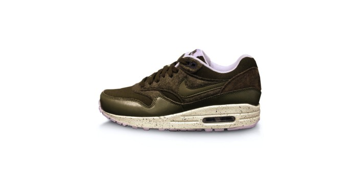 Nike Air Max 1 Dark Loden and Medium Olive
