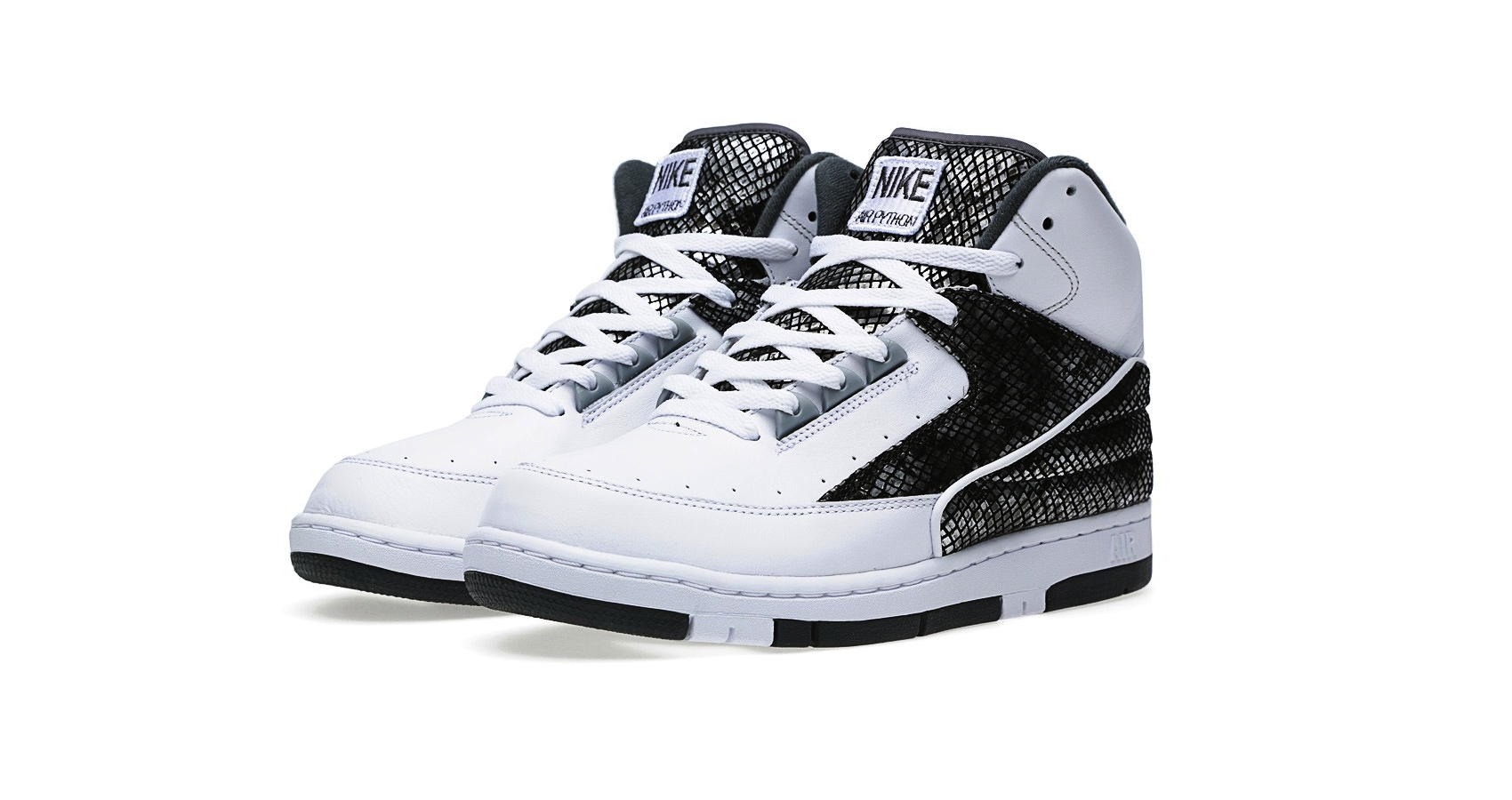 Nike Air Python SP White and Metallic Silver
