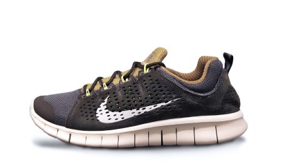 Nike Free Powerlines II LTR Newsprint and Dusty Grey
