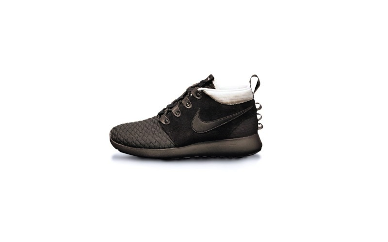 Nike Roshe Run Sneakerboot Black