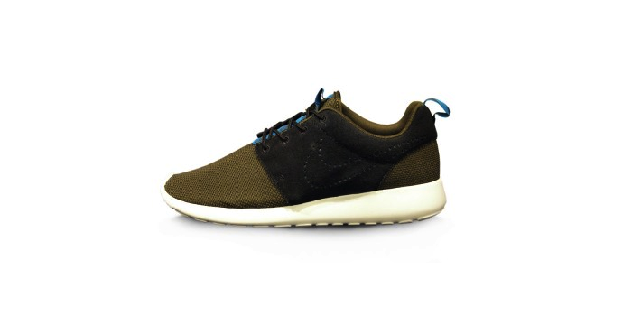 Nike Rosherun Dark Loden and Black