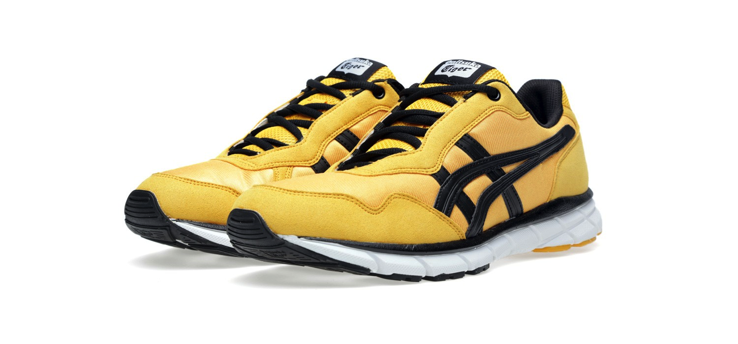 Onitsuka Tiger Harandia Gold and Black