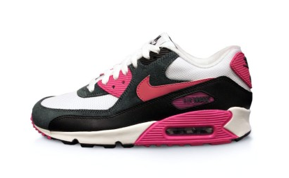 Nike Air Max 90 Essential White, Pink Foil and Black