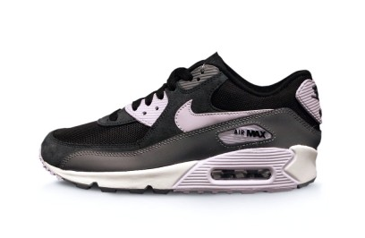 Nike Air Max 90 Essential Black and Violet Frost