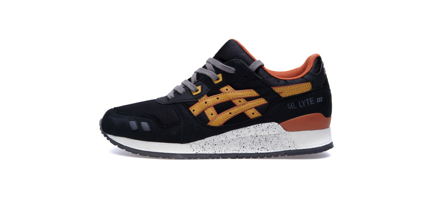 Asics Gel Lyte III Black and Tan