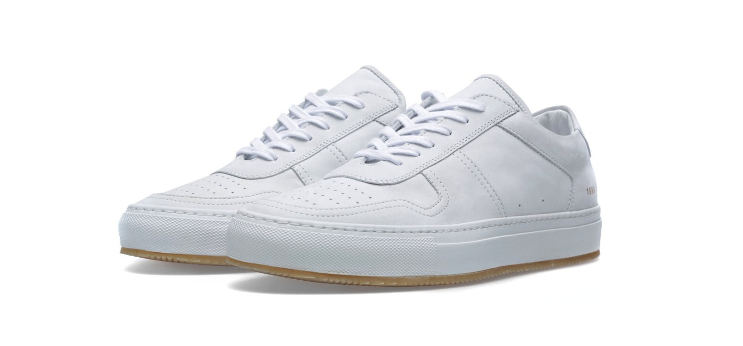 Common Projects B-Ball Low White