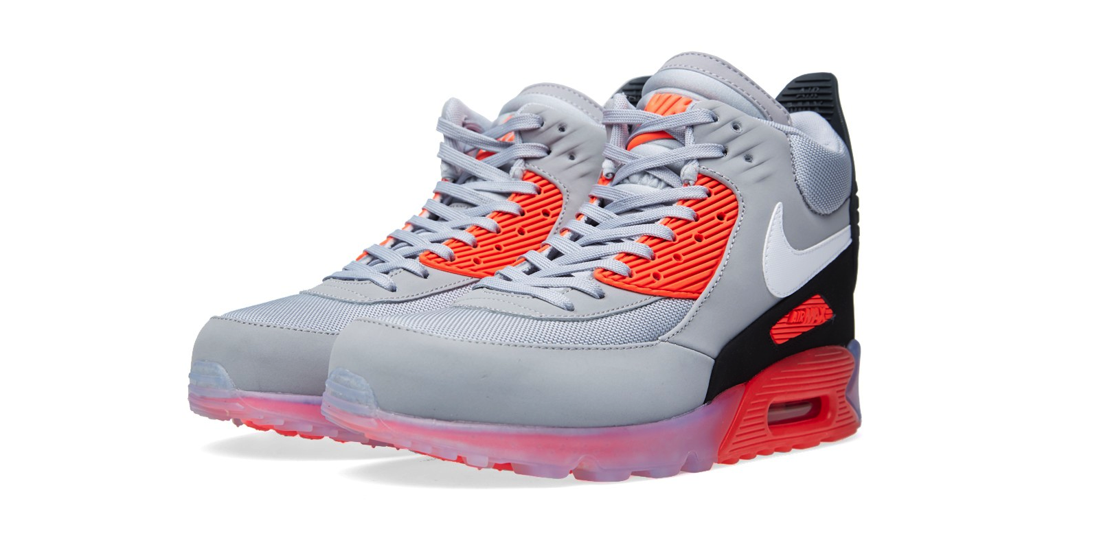 Nike Air Max 90 Sneakerboot Ice Wolf GreyAnthracite
