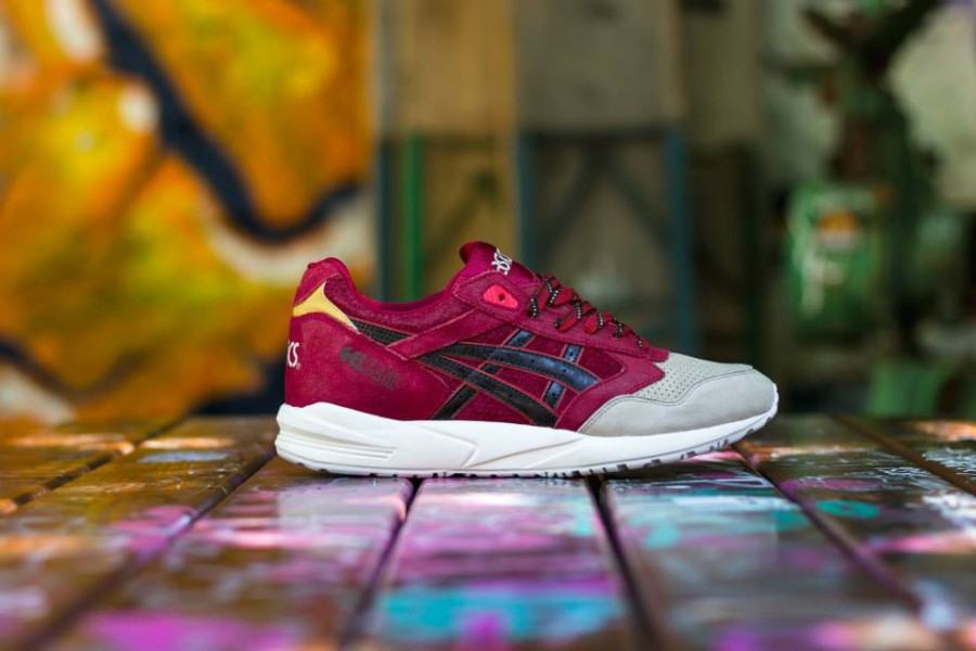 Asics Gel Saga Christmas Pack Red