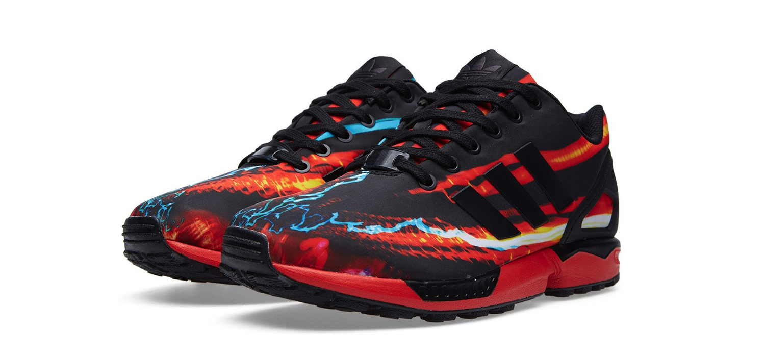 Adidas ZX Flux Lava Red