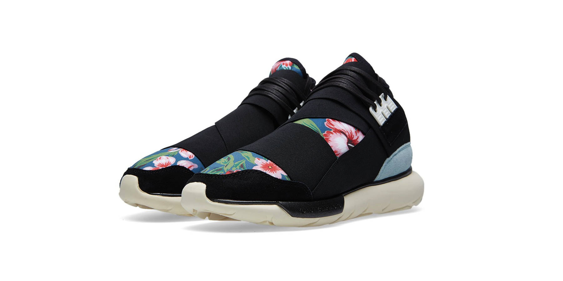 Y-3 Qasa High Black & Flower II