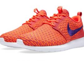 Nike Flyknit Roshe Run Bright Crimson