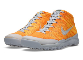 Nike Flyknit Trainer Chukka Total Orange Sale