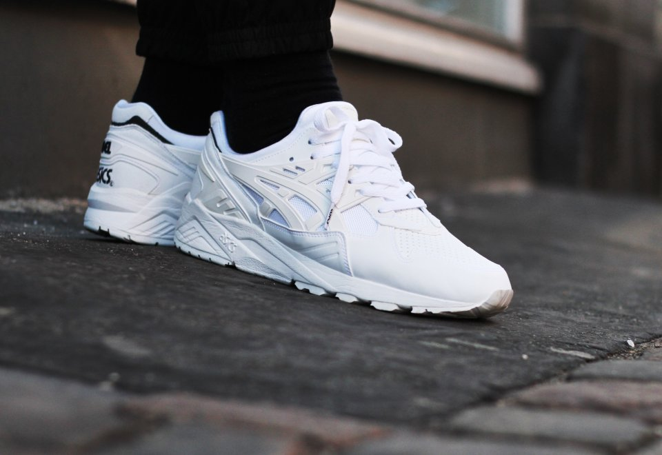 Asics Gel Kayano Triple White
