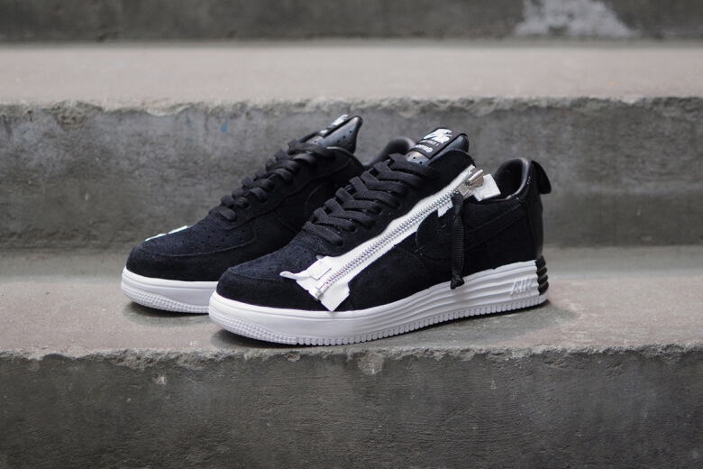 Nike Lunar Force 1 SP x Acronym Black Cool Sneakers