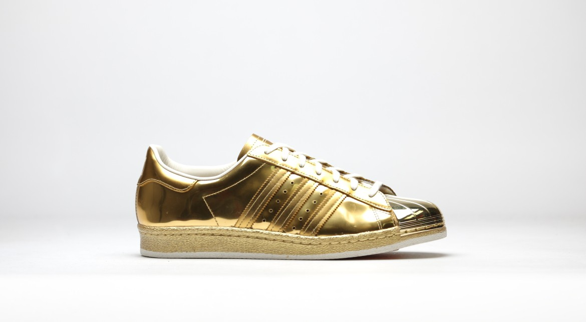 Adidas Superstar 80s Metallic Gold Sneakerworld.dk