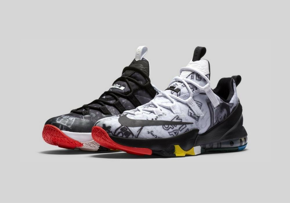 Nike LeBron XIII Low Limited Multicolor   Sneakerworld.dk