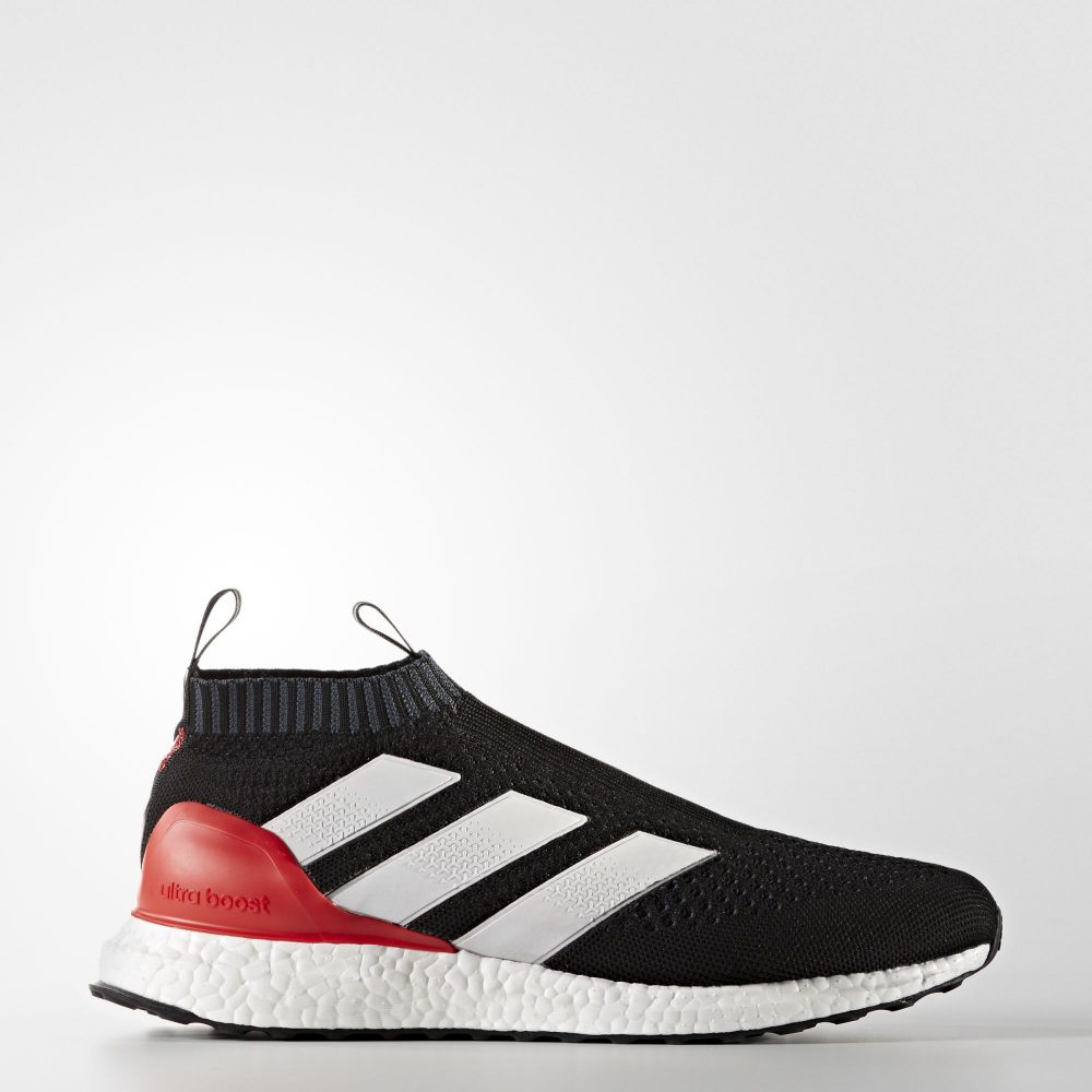 new style db157 79bbc ... adidas ace 16 purecontrol ultra boost black red