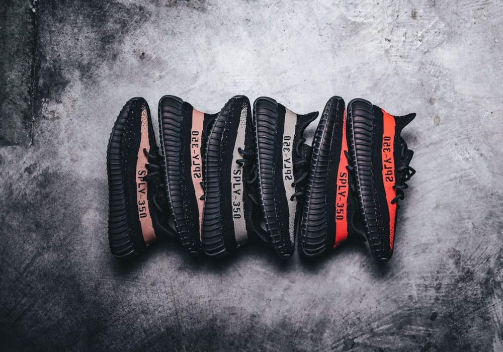 Best Replica Yeezy 350s 'V2' 'Black Red' 'Black Copper'