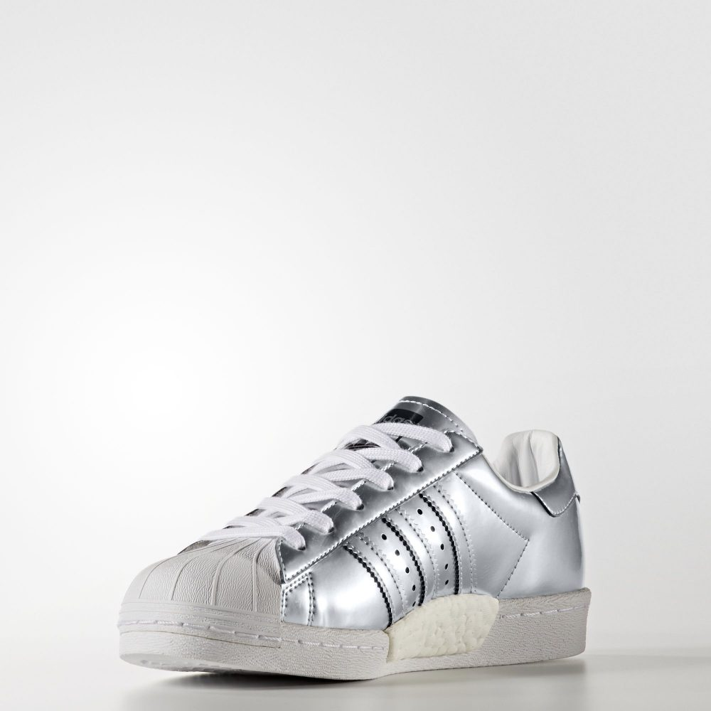 Adidas Superstar Boost Silver 1