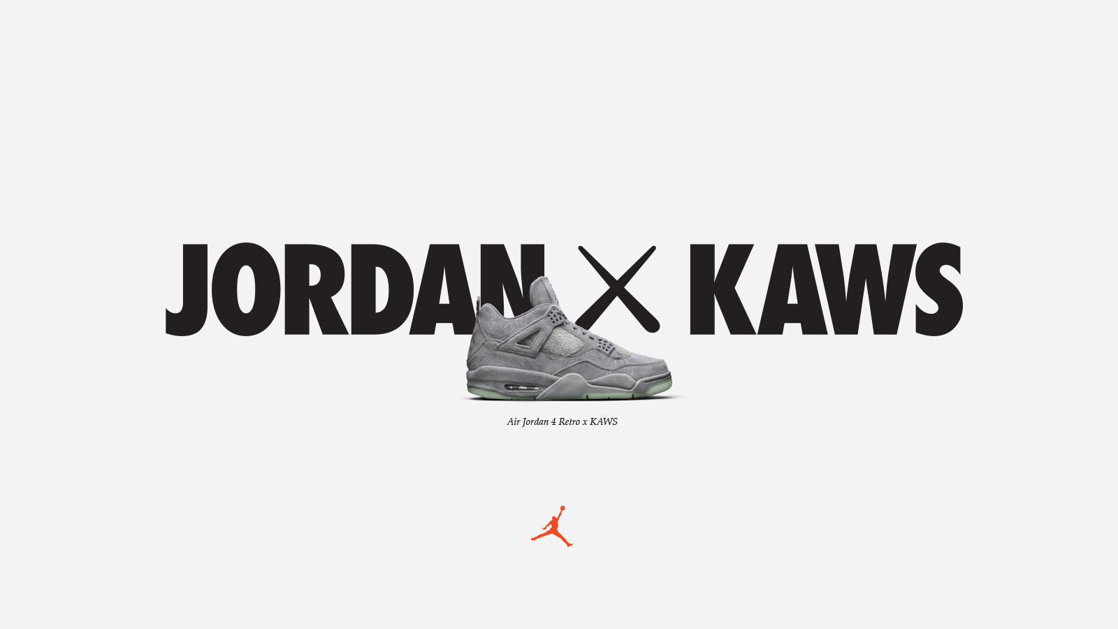 Nike Air Jordan IV x KAWS