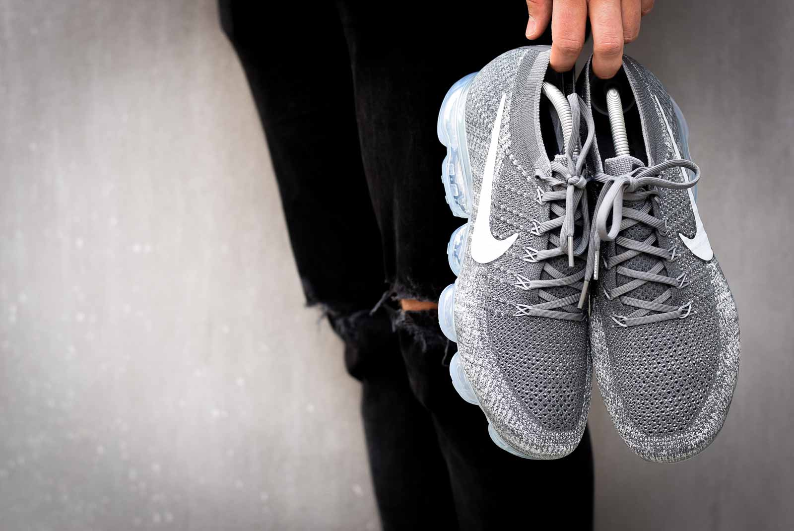 "On Feet | Nike Air Vapormax Flyknit ""Asphalt"""