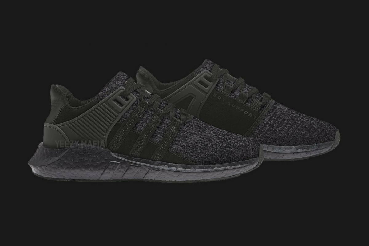 "Sneak peek: adidas EQT Support 93/17 ""Triple Black"""
