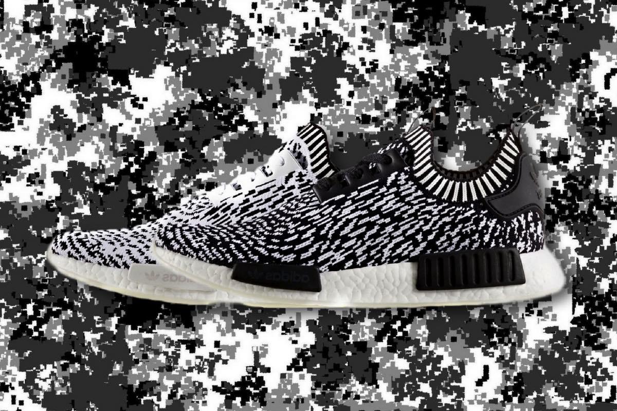 "Sneak Peek: adidas NMD R1 Primeknit ""Zebra"" Pack"