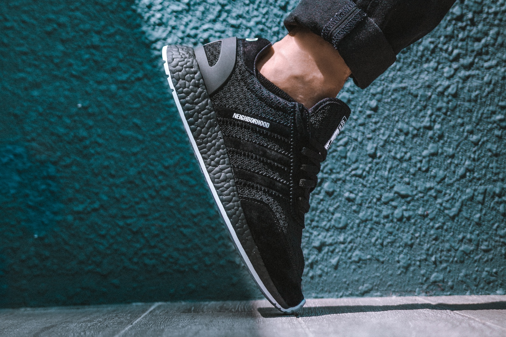 Sneak Peek: NEIGHBORHOOD x adidas Iniki Runner Boost